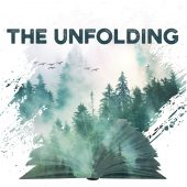 The unfolding Podcast promo image